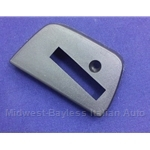 Bumper Blade Trim End Cap Rear Left (Fiat X19 1974) - OE NOS