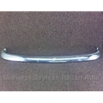 Bumper Front Chrome (Fiat 124 Coupe A-Series + C-series North America) - OE NOS