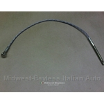 Cable Parking Brake Front Section (Fiat 850 67-73) - OE NOS