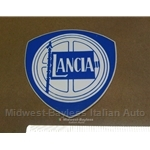 """LANCIA"" shield crest Decal 3"" x 3"" (Lancia Beta Zagato Coupe Scorpion)"