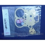 Carburetor Gasket Kit Weber DHSA (124 Spider/Coupe 1967-73, Sedan/Wagon 1970-73) - OE NOS