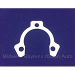 Exhaust Muffler Flange Locking Plate Retainer - 3 Bolt Flange (Fiat 124 Spider, Coupe Spider, 131, X19) - OE NOS