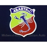 """ABARTH & C."" shield crest Decal - 4"" x 3 1/4"""