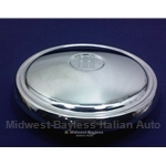 Hub Cap 215mm (Fiat 850 Spider / Coupe, 128) - OE NOS