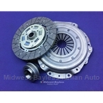 Clutch KIT Cover + Disc + Bearing (Fiat 124 Spider, Coupe 1968-70 + All w/1438cc) - NEW