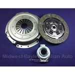 Clutch KIT  Cover + Disc + Release Bearing (Fiat Bertone X19 5-speed 1500cc,  Strada/Ritmo) - NEW