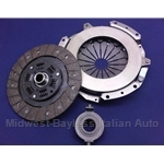Clutch KIT Cover + Disc + Release Bearing (Lancia Beta Zagato/Coupe/HPE, Lancia Montecarlo/Scorpion) - NEW
