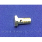 Clutch Slave Cylinder Banjo Bolt M12x1.25 (Fiat Bertone X1/9 All) - OE / RENEWED