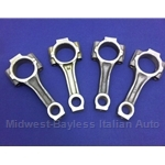 Connecting Rod Set SOHC 1100, 1300 - Floating Pin (Fiat X19 128 Yugo) - U8