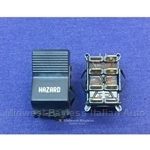 Console Hazard Lights Switch (Fiat X19 1973-78, 128) - U8