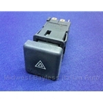 Hazard Lights Switch (Fiat Bertone X1/9, Fiat Pininfarina 124 Spider 1983-on) - U8