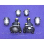 Control Arm - Ball Joints + Bushings KIT (Fiat Pininfarina 124 All) - NEW