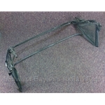Convertible Top Frame Assembly - Tinted Glass (Fiat 124 Spider 1975-78) - U8