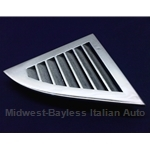 C-Pillar Vent Trim Chrome Right (Lancia Beta Coupe) - OE NOS