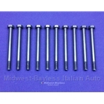 Cylinder Head Bolt DOHC 10x SET M10x115 1.25 (Fiat Lancia to 1982 + 1983-85) - NEW