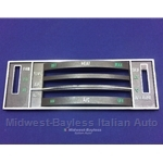 Dash Panel Heater Controls (Lancia Beta HPE) - U9