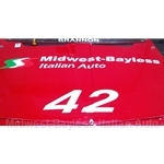 "Decal ""Midwest-Bayless Italian Auto"" - 48 Inches"