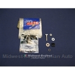 Distributor Repair Kit - Bolt / Insulator (Fiat X19, 128 w/Ducellier Dist.) - OE NOS
