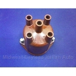 Distributor Cap DOHC (Fiat 124 Sedan Wagon 1970-73 w/S147 Dist. + Lancia Beta 1979 PLEX) - NEW