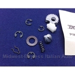 Distributor Repair Kit - Internal Hardware (Fiat X19, 128 w/Ducellier Distributor) - OE NOS