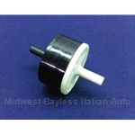 Distributor Vacuum Advance Check Valve (Fiat 124, X1/9, 131, 128 through 1980) - OE NOS