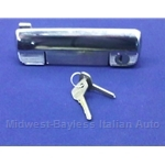 Door Handle Exterior Front Right With Keys (Fiat 128 1971-79) - OE NOS
