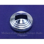 Door Handle Bezel Inner Chrome (Fiat 128) - OE NOS