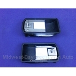 Door Handle Exterior - SET w/Key - Left + Right (Fiat Bertone X1/9 1973-84) - NEW