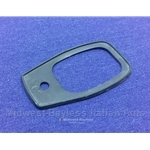 Door Handle Exterior Pad Rear (Fiat 124 Spider 1968-78) - U8