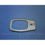 Door Handle Exterior Pad Rear (Fiat 124 Spider 1968-78) - OE NOS