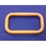 Door Handle Interior Bezel Otter Brown (Fiat Strada 1979) - OE NOS