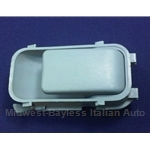 Door Handle Interior Sky Blue (Fiat Strada 1979) - OE NOS