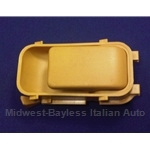 Door Handle Interior Ultra Beige (Fiat Strada 1979) - OE NOS
