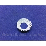 Washer M8 Serrated Lock Taper for Door Hinges (Fiat, Lancia) - OE / RENEWED