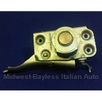Door Latch Assembly Front Left (Fiat 124 Sedan Wagon 1967-69) - OE NOS