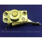 Door Latch Assembly Front Right (Fiat 124 Sedan Wagon 1967-69) - OE NOS