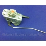 Door Latch Assembly Left (Fiat 850 All) - OE NOS