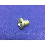 Door Latch Mounting Screw (Fiat 124, X1/9, 850) - OE NOS