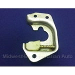 Door Latch Plate Right (Fiat 850 Spider, 124 Sedan Wagon) - OE NOS