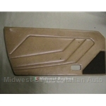 Door Panel Left (Fiat X1/9 1979-82) Beige / Orange-Tan - OE BLEMISH