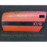 Door Shell Left DS (Fiat X1/9 1973-78 Series 1) - U8