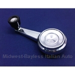 Window Crank Handle (Fiat 124 Coupe) - OE NOS