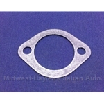 Exhaust Manifold EGR Gasket w/8mm Holes (Fiat 124 Spider 1977 + 1974-76) - OE NOS