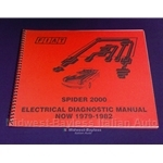 Electrical Diagnosis Guide (Fiat 124 Spider 1979-82) - NEW