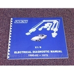 Electrical Diagnosis Guide (Fiat X19 1979-82) - NEW
