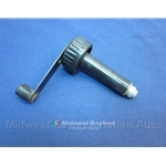 Emergency Power Window Crank (Lancia Beta Coupe Zagato HPE 1979-On) - U8