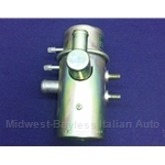 Emissions Cannister Gulp Valve w/2x Vacuum Taps (Fiat 124, 128, X19 through 1978) - OE NOS