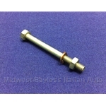 Exhaust Hanger Rear Bolt Hardware 4mm (Fiat 124, 128 to 1973) - NEW