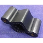 Exhaust Hanger Rubber w/4mm Mount Holes (Fiat 124, 128 to 1973 + 1974-On) - NEW