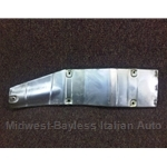 Exhaust Heat Shield Front (Fiat 124 Spider FI 1980-85) - OE NOS